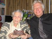 Dr Alex Imich celebrates 109th birthday